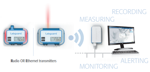 Real-time wireless environmental monitoring system