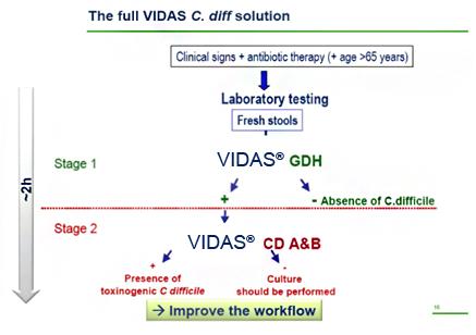 Clostridium difficile A+B toxin gyorsteszt (1 db)